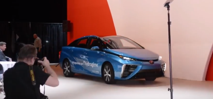 Toyota Mirai Fuel Cell Electric Vehicle To Go On Sale In Canada – Video