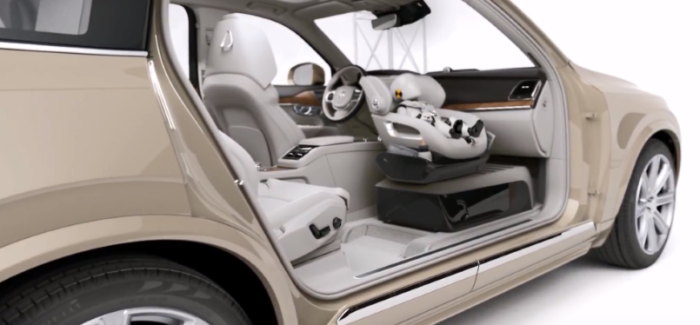Volvo Excellence Child Safety Seat Concept & Inflatable Child Seat – Video