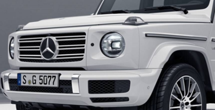 White 2019 Mercedes G-Class AMG Line