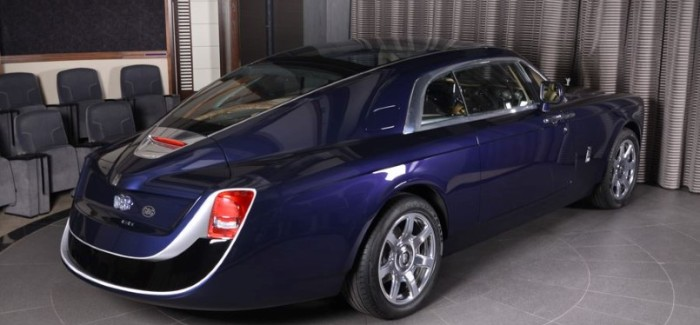 $13 Million Rolls Royce Sweptail At Rolls Royce Abu Dhabi Motors