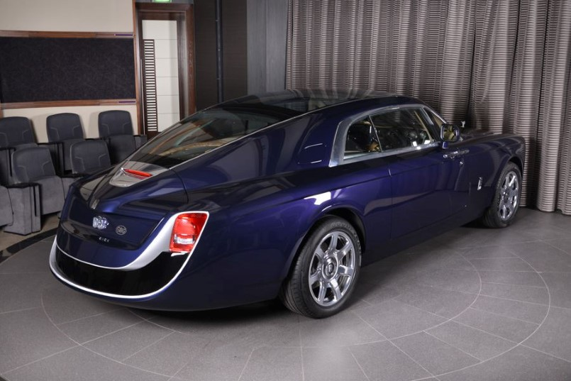 13 Million Rolls Royce Sweptail At Rolls Royce Abu Dhabi