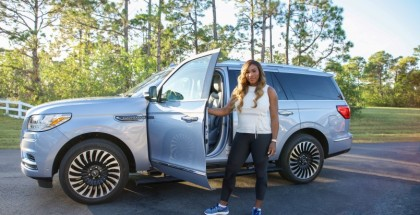 Serena Williams is Lincoln's newest brand ambassador, showcasing the style and substance of the all-new Lincoln Navigator in a social media campaign that kicks off Feb. 15.