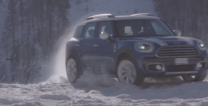 2018 MINI Countryman ALL4 Experience Snow & Ice Driving