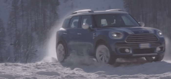 2018 Mini Countryman All4 Experience Snow Ice Driving Video