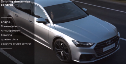 2019 Audi A7 Drive select Expained