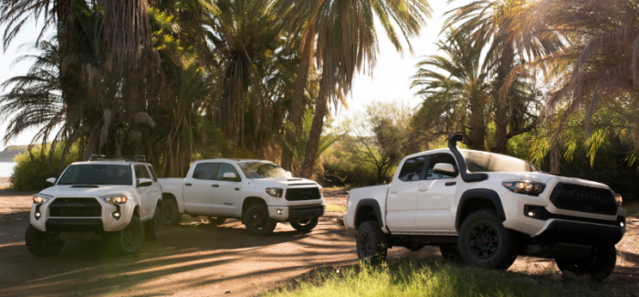 2019 Toyota TRD Pro 4Runner, Tacoma, & Tundra – Video – UPDATE