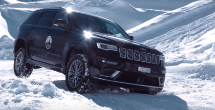 Alfa Romeo, Jeep, & Fiat Snow Training 2018 In German