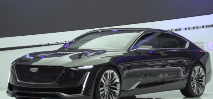 Cadillac Escala Walkaround – Video