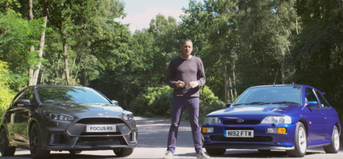 Ford Focus RS vs Escort RS Cosworth – Video