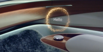 Hologram In VW I.D. VIZZION Interior Teased