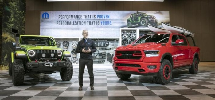 Mopar 2018 Chicago Auto Show Presentation With Wrangler & Ram – Video