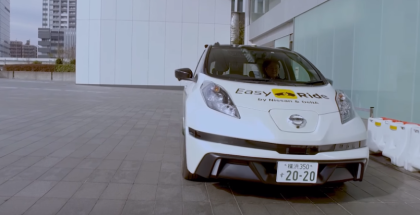 Nissan Self Driving Easy Ride Taxi Explained