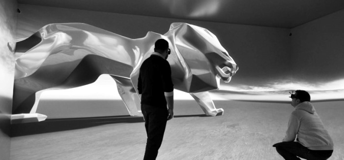 PEUGEOT Monumental Lion Sculpture For Geneva Motor Show – Video