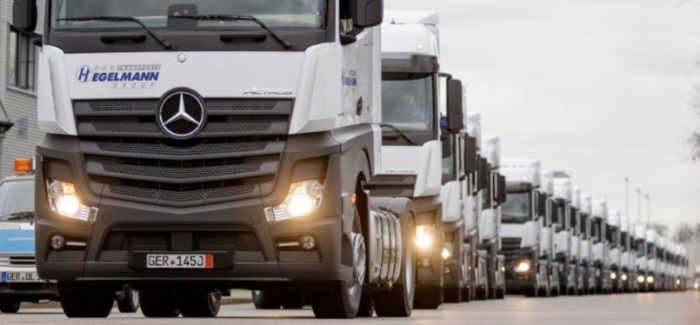 Taking Delivery Of 1000th Mercedes Benz Actros – Video