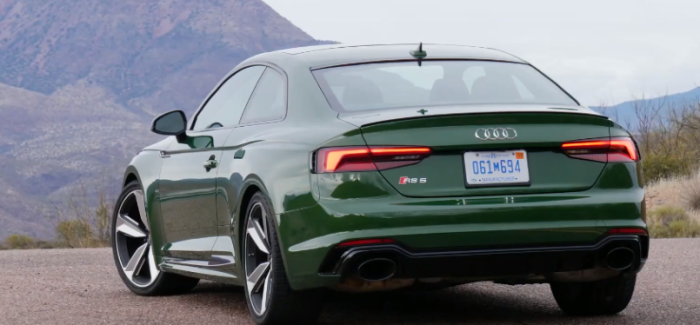 2018 Audi RS5 US Spec Explained – Video