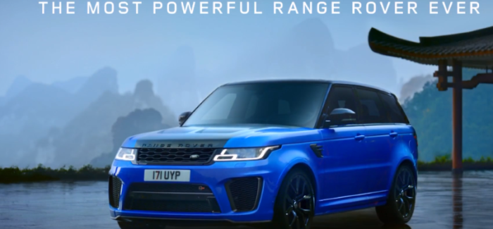 2018 Land Rover Range Rover Sport SVR Tianmen Road Record – Video