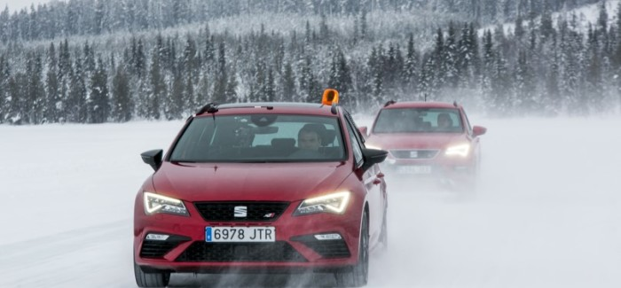 2018 seat ateca fr cold weather winter testing – video | dpccars
