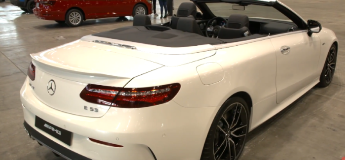 2019 Mercedes AMG E53 Cabriolet EQ Boost Starter Explained – Video ...