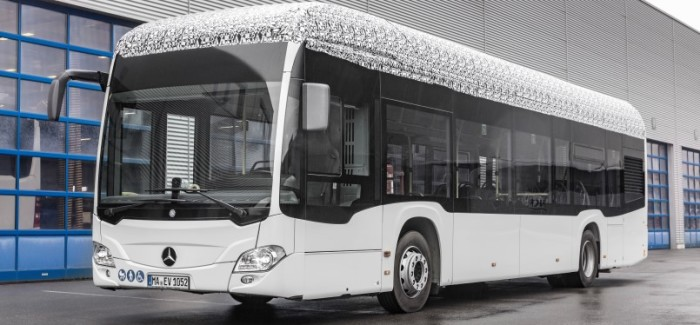 2019 Mercedes-Benz Citaro Electric Bus – Video