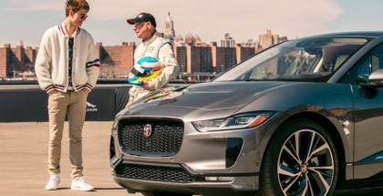 Baby Driver Test Drives Electric Jaguar I-Pace