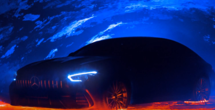 Mercedes-AMG GT 4-Door Coupe Teaser
