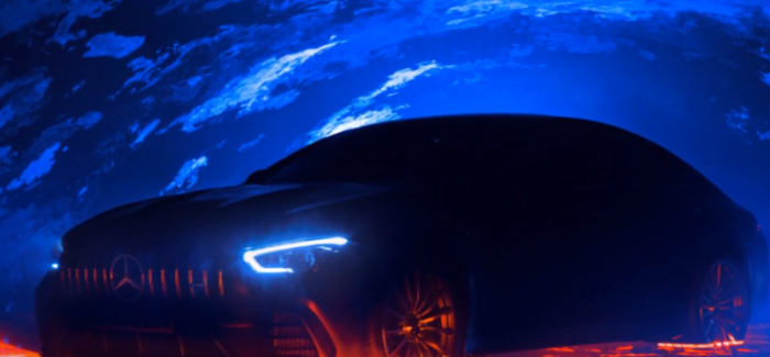 Mercedes-AMG GT 4-Door Coupe Teaser – Video
