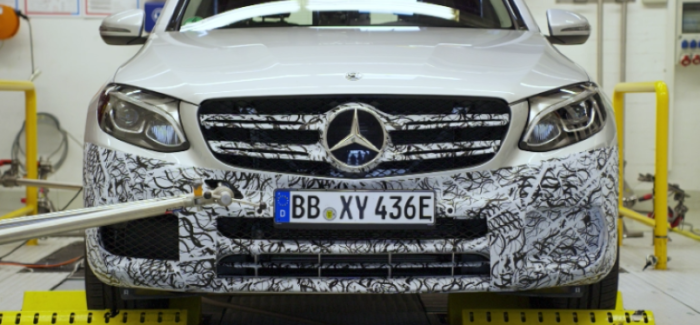Mercedes GLC F-CELL Factory Assembly & Test Drive – Video