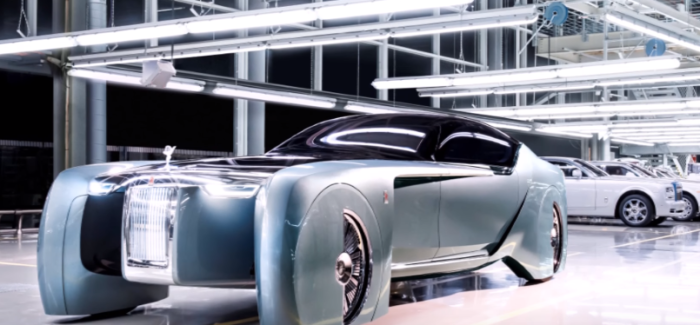 Rolls Royce VISION NEXT 100 – Codenamed 103EX – Video