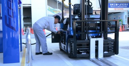 Toyota Using Hydrogen Powered Forklifts at its Factories