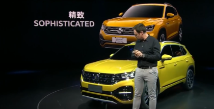 Volkswagen Advanced Mid-size SUV Presentation - VW (1)