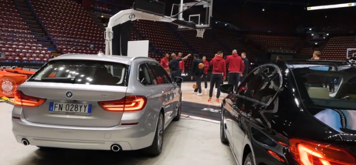 2018 BMW 5 Series Delivery To EA7 Olimpia Milano Team – Video
