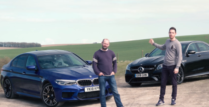 2018 BMW M5 vs Mercedes-AMG E63 S (2)