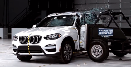 2018 BMW X3 Crash Test & Rating