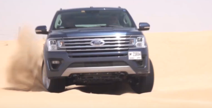 2018 Ford Expedition Hot Weather Off Road Testing