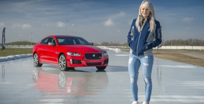 2019 Jaguar XE 300 SPORT Ice Racing