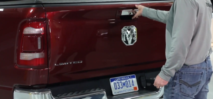 2019 Ram 1500 Tailgate Features Explained