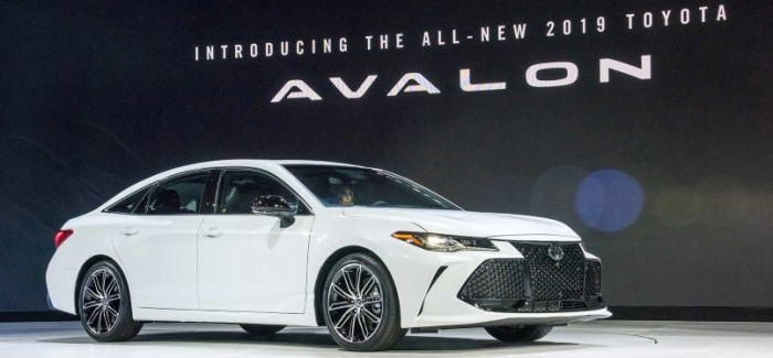 2019 Toyota Avalon Factory, Limited Hybrid, & Touring – Video