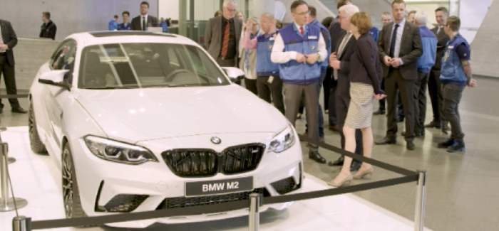 BMW Production Plant At Leipzig With BMW M2 Competition & Frank-Walter Steinmeier – Video