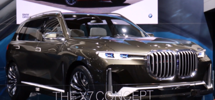 BMW X7, M5, X3 At Dubai International Motor Show – Video