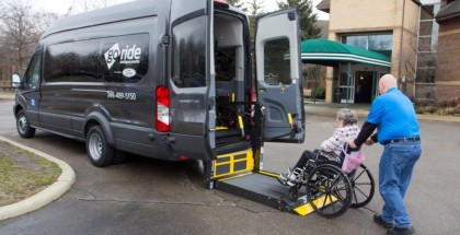 Ford Motor Company is launching its new GoRide non-emergency medical transportation service to safely get patients to and from their medical appointments on time, serving more than 200 facilities across the Beaumont Health network