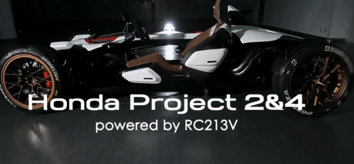 Honda Project 2&4 powered by RC213V – Video