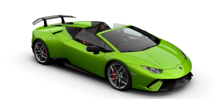 Lamborghini Huracan Performante Spyder Colors – Video