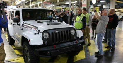 Last 2018 Jeep Wrangler JK Being Assembled At Factory
