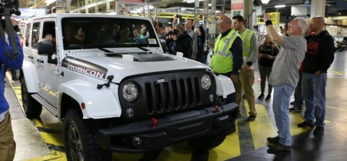Last 2018 Jeep Wrangler JK Being Assembled At Factory – Video