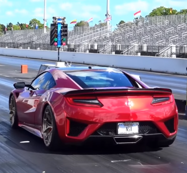 Modified 2018 Acura NSX Drag Racing – Video