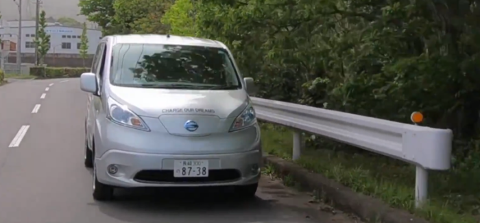 Nissan Future Plant Solar Project With e-NV200