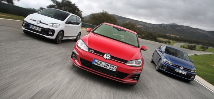 VW GTI Up!, Golf, and Polo At GTI Performance Days – Video