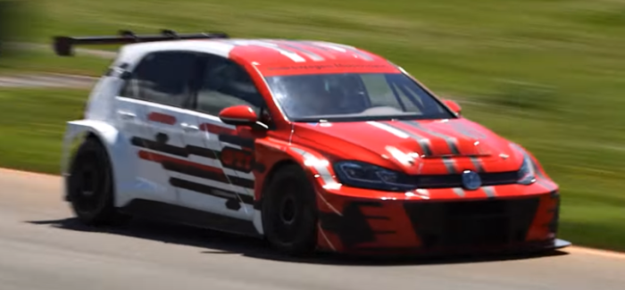 VW Golf GTI TCR At GTI Performance Days – Video