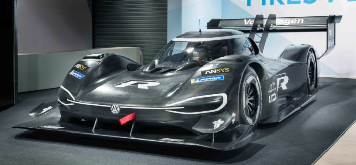 World premiere of the Volkswagen I.D. R Pikes Peak on 22nd April 2018 in Alés (F)