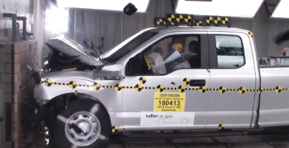 2018 Ford F150 Supercab Truck Crash Test (1)